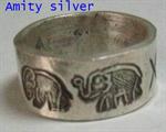 แหวนเงินกะเหรี่ยง, R NW-002