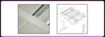 ฝ้าเพดานอลูมิเนียมระบบ รุ่น Liner - Grid