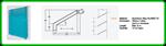 แผ่นเกล็ดบังแดดอลูมิเนียม รุ่น TYPE MV 100