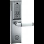ชุดล็อคแบบสแกนลายนิ้วมือ ทาบบัตร+รหัสผ่าน+กุญแจ