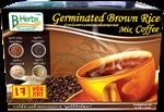 ข้าวกล้องเพาะงอกชนิดชงดื่มผสมกาแฟ/Germinated Brown rice Mix coffee (240g.)