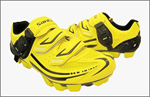 รองเท้าเสือภูเขา เหลือง-ดำ