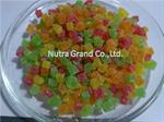 สับปะรดอบแห้งเต๋า 5-7MM. สีธรรมชาติ (DHPI5D1)