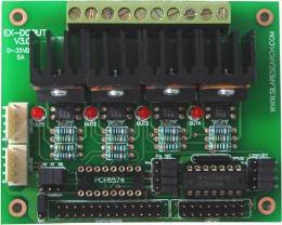 บอร์ด 4 DC Output