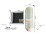 ไฟติดผนังโซล่าเซลล์ 5 LED