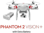 DJI Phantom 2 Vision Plus with Extra Battery
