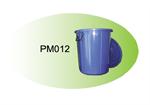 ถังน้ำ 12 gl ( ตัว+ฝา) คละสี PM012