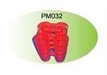 พวงพริก 4 ช่อง  PM032