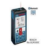 เครื่องวัดระยะ ใช้แสงเลเซอร์ BOSCH GLM100C (OO01502053)