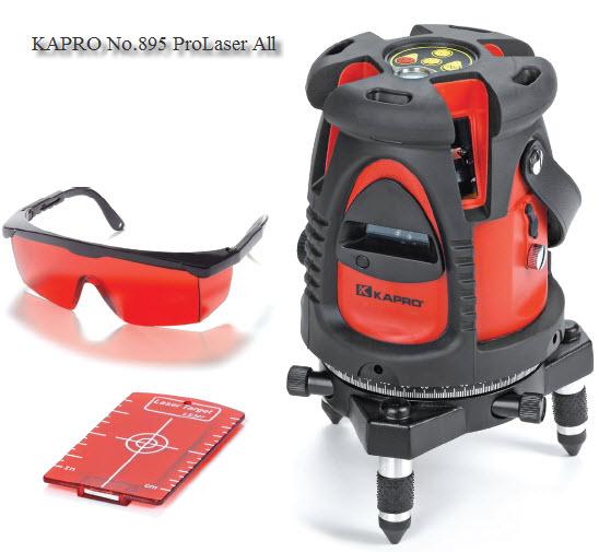 เครื่องวัดระดับด้วยแสงเลเซอร์ KAPRO Self Levelling Laser No.895 (OO01501836)