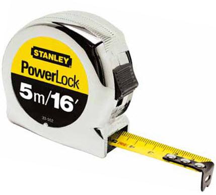 ตลับเมตร STANLEY รุ่น Powerlock (OO01501453)