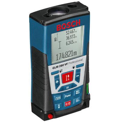 เครื่องวัดระยะใช้แสงเลเซอร์ BOSCH GLM 250 VF (OO01501204)