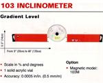วัดระดับน้ำ KAPRO Inclinometer No.103 (OO0150721)