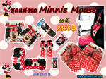 ชุดแต่งรถ Minnie mouse มินนี่ เม้าส์