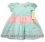 เสื้อผ้าเด็กขายส่ง ชุดเดรสเด็ก LNB-104 ไซร์ 3M-9M Luara Ashley (แพค 3ชุด)