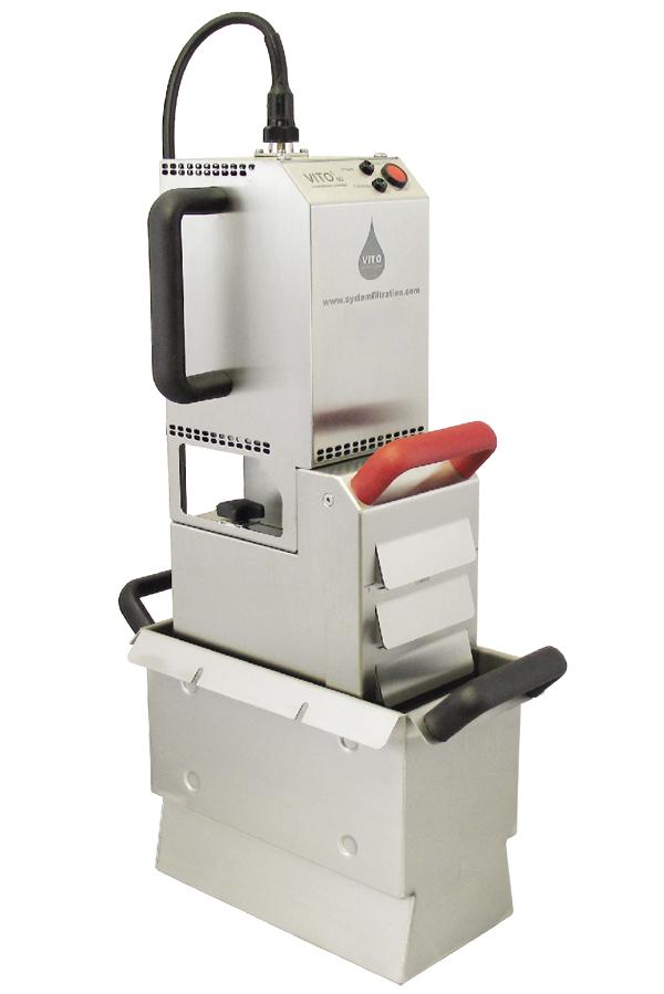 เครื่องกรองน้ำมันพืช (VITO 80 Oil Filter System)
