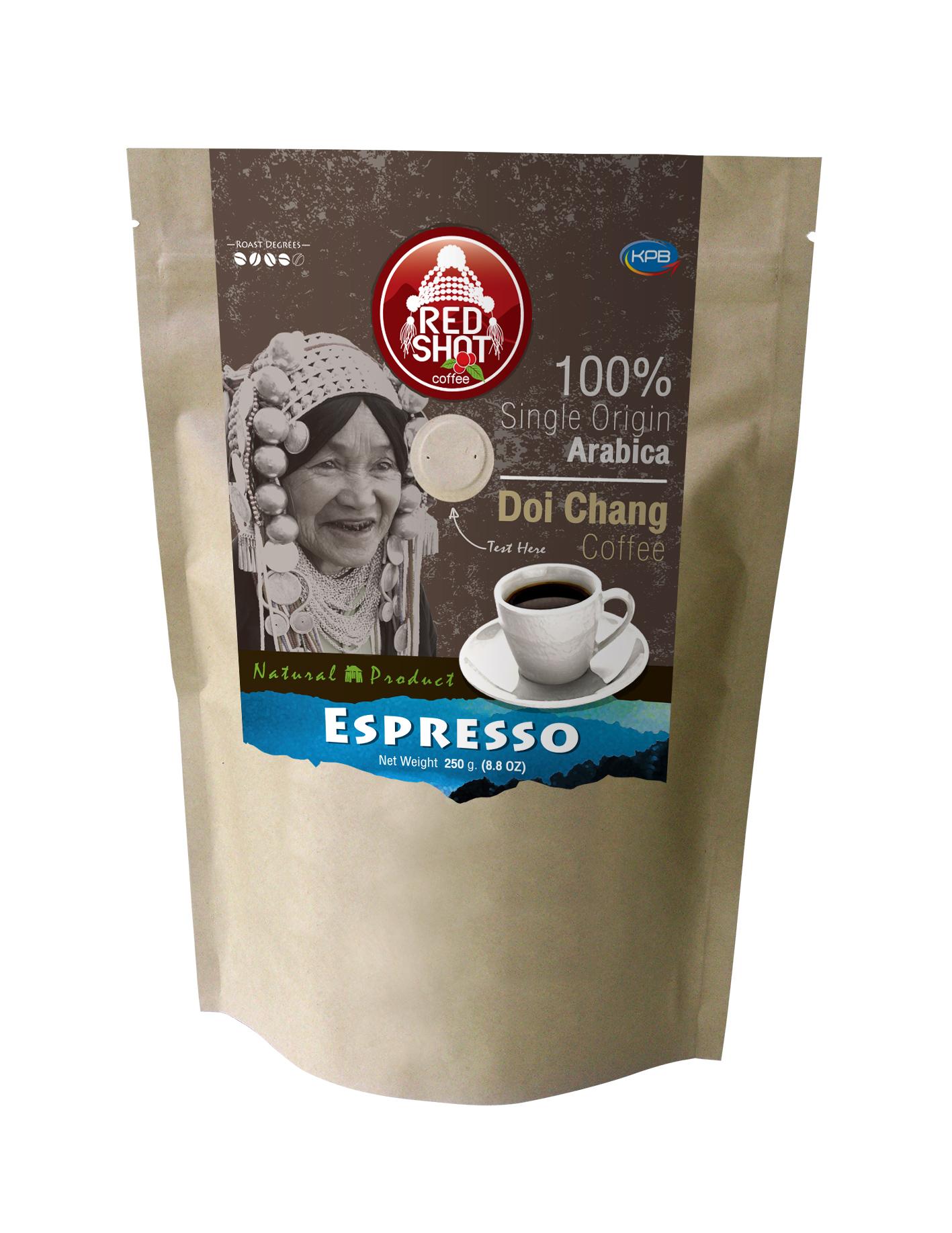 กาแฟ Espresso (REDSHOT Espresso 250g.)