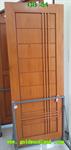 ประตูไม้สัก บานเดี่ยว ลาย GB-54