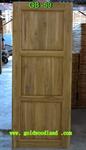 ประตูไม้สัก บานเดี่ยว ลาย GB-59