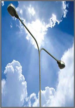 เสาไฟฟ้าแสงสว่าง มาตรฐานกรมทางหลวงชนบท