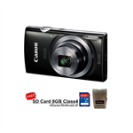 Canon Digital Camera IXUS160 8X (Black)