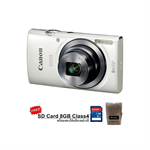 Canon Digital Camera IXUS160 8X (White)