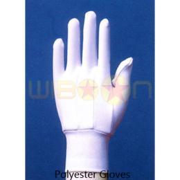 ถุงมือผ้าโพลีเอสเตอร์