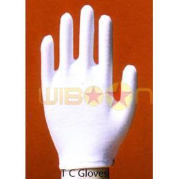ถุงมือผ้าทีซี