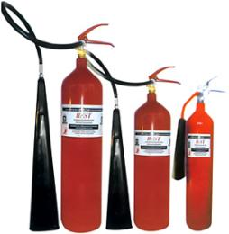 เครื่องดับเพลิง ชนิดคาร์บอนไดออกไซด์