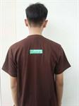 เสื้อแขนสั้นปักโลโก้นักธุรกิรน้อยดอยเต่า (Short sleeves embroidered logo on the boss at the Tao.)