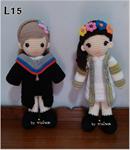 ตุ๊กตารับปริญญา 15 นิ้ว (รับทำทุกสถาบัน ทุกขนาด)