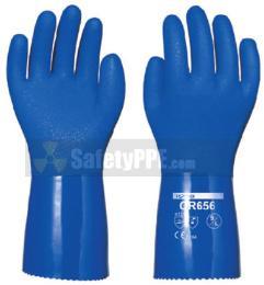 ถุงมือยาง PVC