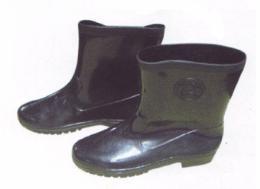 รองเท้าบู๊ท PVC ยาว 9 นิ้ว