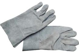 ถุงมือหนังท้องสั้น