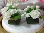 ดอกมะลิทำจากดินไทย