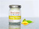 SenOdos เทียนหอมอโรม่า Ylang Ylang Soy Candle 45 g. - กลิ่นกระดังงา