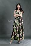 MD0011 เสื้อผ้าเกาหลี แม็กซี่เดรส Maxi Dress ชุดไปงาน ชุดออกงาน ชุดกระโปรงยาว ชุดแซกยาว เดรสยาว