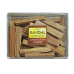 SandalHarvest ไม้ชิ้น ไม้หอมแก่นจันทร์  ไม้จันทร์หอม หอมอโรม่า แท้ 100%