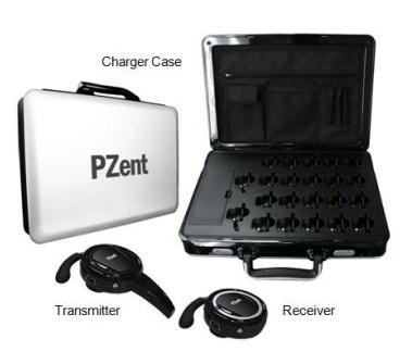ชดุอุปกรณ์บรรยายไร้สาย Pzent-P20