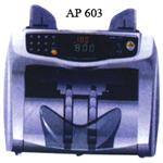 เครื่องนับและตรวจธนบัตรระบบใบปัด POWER BANK รุ่น AP 603