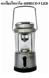 ตะเกียงไดนาโม 4558ECO 9 LED