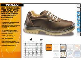 รองเท้าลำลอง หนังแท้ กันน้ำและไฟฟ้าสถิต