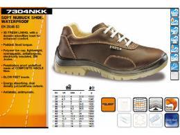 รองเท้า Safety หนังแท้ กันน้ำ
