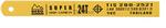 ใบเลื่อยตัดเหล็ก สีเหลือง เบิร์ก