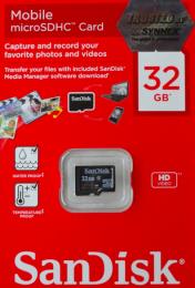 การ์ด Sandisk MicroSD 32GB