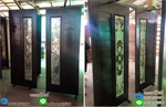ร้านวรกานต์ค้าไม้ จำหน่ายประตูไม้สักบานคู่ ประตูไม้สักบานเดี่ยว ประตูไม้สักกระจกนิรภัย