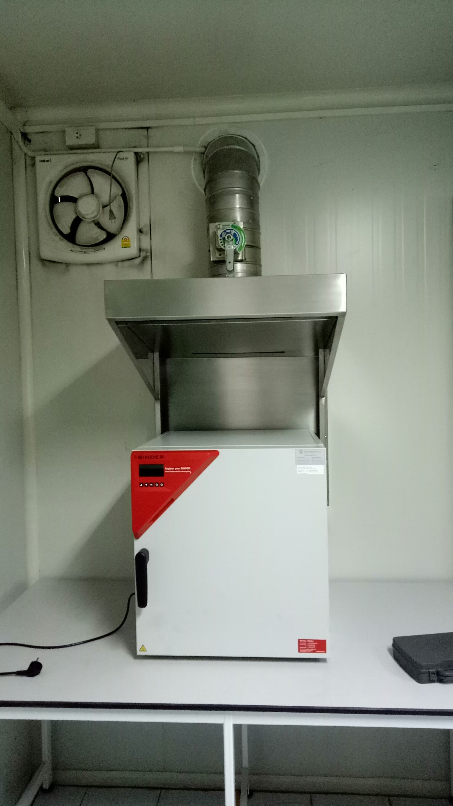 CANOPY STAINLESS - Fume hood