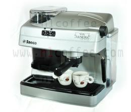 เครื่องชงกาแฟ 1 หัวชง พร้อมเครื่องบดกาแฟ