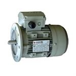 มอเตอร์ Hascon 1.1kW1.5HP2Pole 2800rpmแบบหน้าแปลน (B5) อะลูมิเนียมเฟรม 3phase 220/380V
