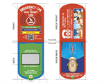 CPR-C AED training helper CPR voice card by meditech